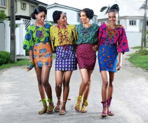 African print dresses and blouses