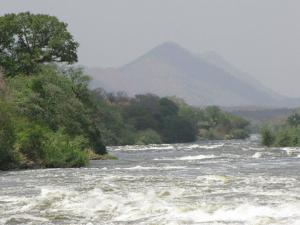 Rapids at Nimule on The Nile