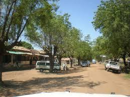 Torit town before starting up the mountain
